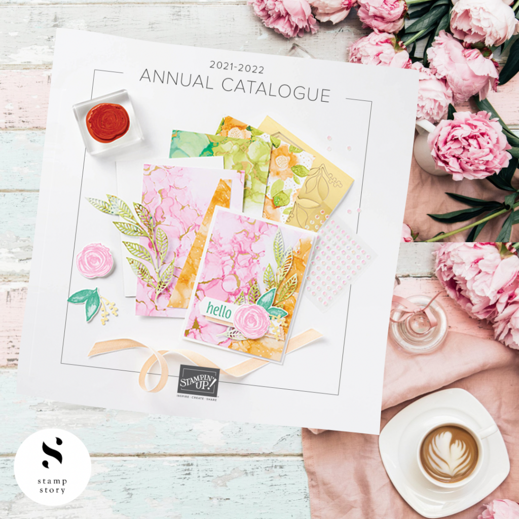 stampin'up! 2021-22 Annual Catalogue