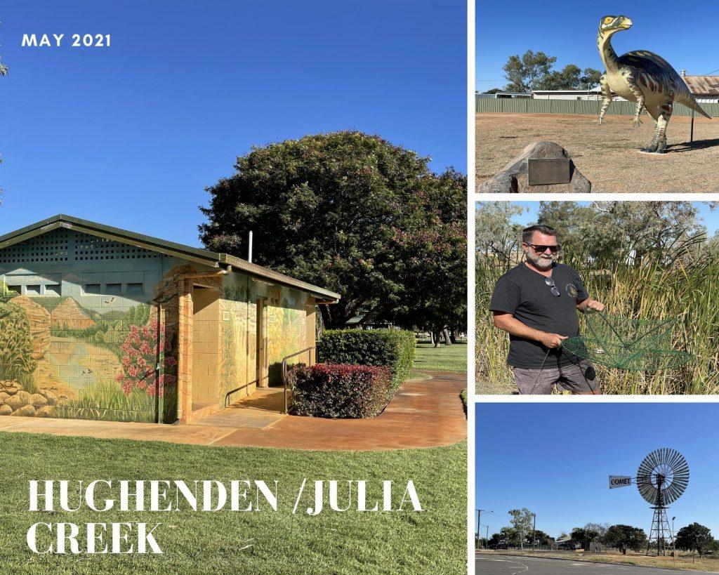 Photo Collage of Hughenden and Julia Creek