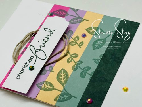 A card using all the Stampin up 2021-23 In colours