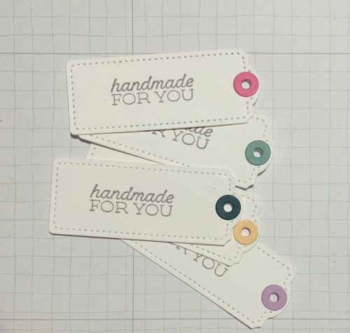 Stampin Up Tailor Made Tag Dies