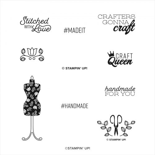 Stampin up Handmade For you Stamp Set