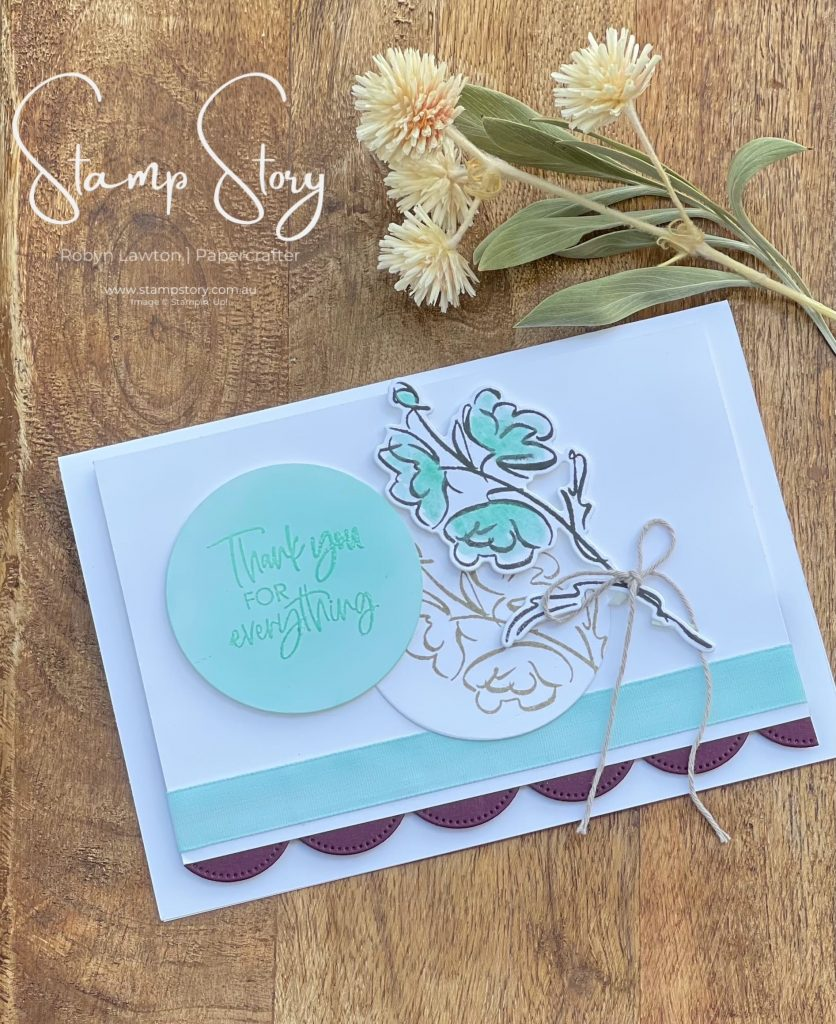 Stamp Story - Colour and Contour - Stampin up