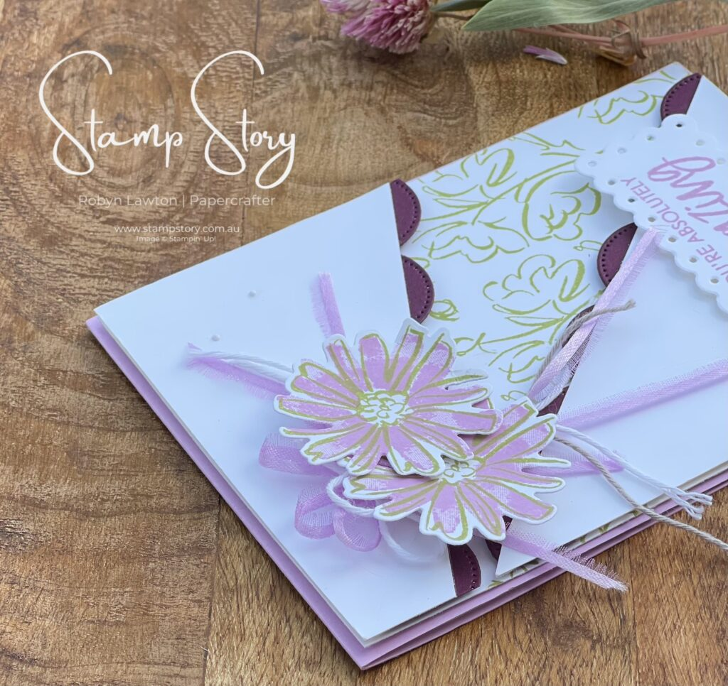 Card made with Color & Contour Stamps